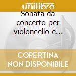 Sonata da concerto per violoncello e pia cd musicale di ALKAN CHARLES VALENT