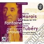 Pieces en trio con racconti di la fontai cd musicale di Marin Marais