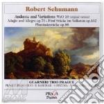 Andante e variazioni woo 10, 5 stucke in cd musicale di Robert Schumann