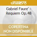 Requiem op.48 08 cd musicale di FAURE'GABRIEL