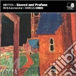 Sacred and profane op.91, inno a s.cecil cd musicale di Benjamin Britten