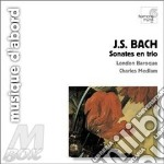 Sonata a 3 bwv 1036 > 1039 cd musicale di Johann Sebastian Bach
