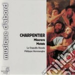 Charpentier Marc-antoine - Meserere H 219, Mottetti H 346, 372, 434 cd musicale di Marc-ant Charpentier