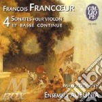 SONATA X VL VI, VII, X, XII               cd musicale di FranÇois Franc?ur