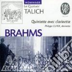 Quintetto x clar e archi op.115 cd musicale di Johannes Brahms