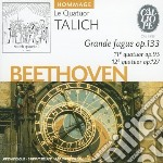 Quartetto n.11 op.95, n.12 op.127, grand cd musicale di Beethoven ludwig van