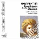 Deux oratorios cd musicale di Marc-ant Charpentier