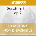 Sonate in trio op.2 cd musicale di Handel georg friedri