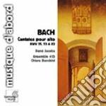 Cantate per contralto bwv 82, 35, 53 cd musicale di Johann Sebastian Bach