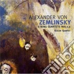 Quartetto n.2 op.15, n.3 op.19 cd musicale di Alexander Zemlinsky