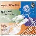 9 sonate per violoncello cd musicale di AndrÉ Navarra