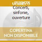 Concerti, sinfonie, ouverture cd musicale di Giusepp Brescianello