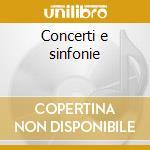 Concerti e sinfonie cd musicale di Giuseppe Sammartini