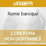 Rome baroque cd musicale