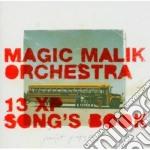13 xp song's book cd musicale di Magic malik orchestr