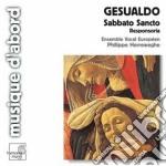 Sabbato sancto cd musicale di Gesualdo carlo princ
