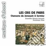 Janequin Clement - Les Cris De Paris cd musicale di ClÉment Janequin