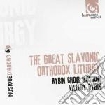 La grande liturgia ortodossa slava cd musicale