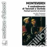 Il combattimento di tancredi e clorinda. cd musicale di Claudio Monteverdi