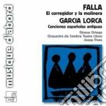 El corregidor y la molinera cd musicale di Falla emanuel de