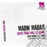 Marais Marin - Suites Per Viola Da Gamba E Basso Continuo cd musicale di Marin Marais
