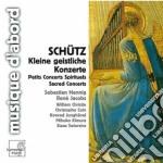 Kleine geistliche konzerte, symphoniae s cd musicale di Heinrich SchÃœtz