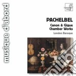 Canone e giga, musica da camera cd musicale di Johann Pachelbel