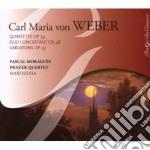 Quintetto con clarinetto op.34, gran duo cd musicale di Weber carl maria von