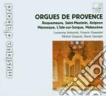 Orgues de provence cd musicale