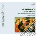 Lamento d'arianna, madrigali dai libri v cd musicale di Claudio Monteverdi