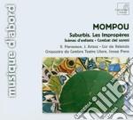 Suburbis, les improp????res, sc????nes d'enfan cd musicale di Frederic Mompou