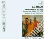 Concerto triplo bwv 1052, concerto per c cd musicale di Johann Sebastian Bach