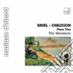 Trio con pianoforte cd musicale di Maurice Ravel