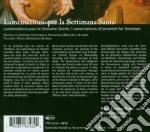 Lamentazioni Per La Settimana Santa  - Aymes Jean-marc Dir  /maria Cristina Kiehr, Soprano  Concerto Soave cd musicale