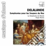Symphonies pour les soupers du roy cd musicale di Michel-ric Delalande