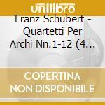 Quartetti per archi nn.1-12 cd musicale di Franz Schubert