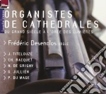 Organistes de cathedrales cd musicale