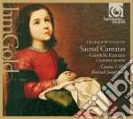 Sacred cantatas cd musicale di Dietrich Buxtehude