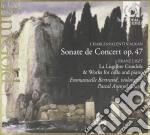 Sonata per violoncello op.47 cd musicale di Alkan charles valent