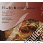 Quintetto per pianoforte e fiati, sesett cd musicale di Rimsky korsakov niko