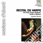 Recital de harpe cd musicale