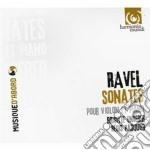 Sonate per violino, kaddish, habanera, b cd musicale di Maurice Ravel