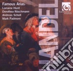 Famous arias cd musicale di HANDEL GEORG FRIEDRI