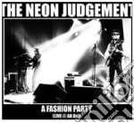 A fashion party cd musicale di Judgement Neon