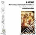 Lassus - Le Lamentazioni Di Geremia cd musicale di LASSUS ORLANDO DE