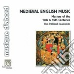 MUSICA MEDIOEVALE INGLESE                 cd musicale