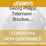BROCKES-PASSION                           cd musicale di TELEMANN GEORG PHILI