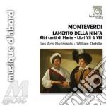 LAMENTO DELLA NINFA, ALTRI CANTI DI MART  cd musicale di Claudio Monteverdi