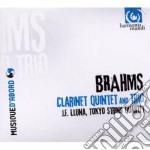 Brahms Johannes - Quintetto Con Clarinetto Op.115, Trio Con Clarinetto Op.114 cd musicale di Johannes Brahms
