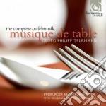 Tafemusik (integtrale) cd musicale di TELEMANN GEORG PHILI